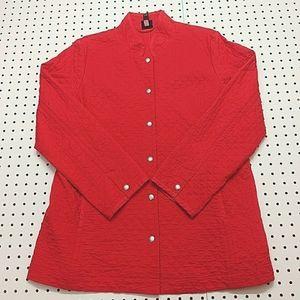Eileen Fisher Quilted Jacket, Size Medium
